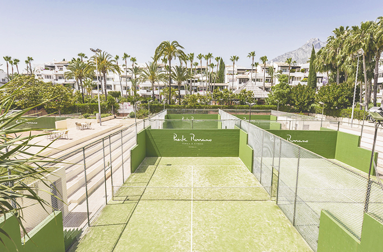 Puente Romano Beach Resort - padel courts