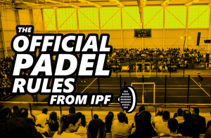 The official padel rules from IPF
