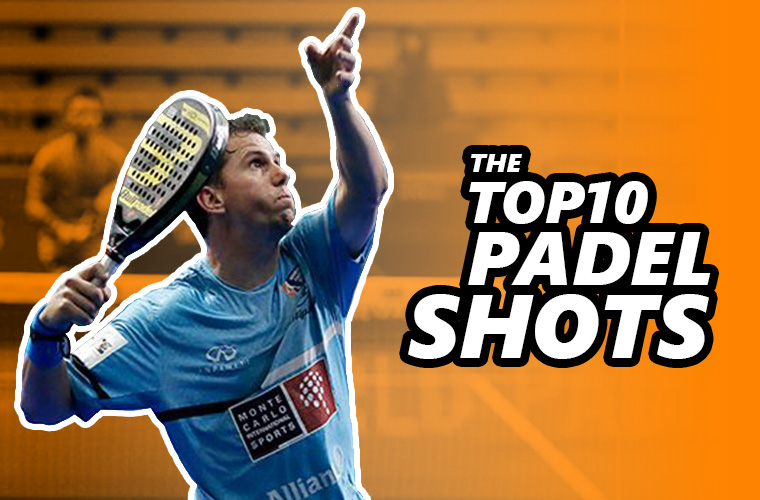 The top10 padel shots